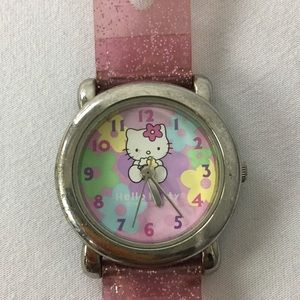 Hello Kitty girls watch NEEDS BATTERY